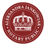 Notary Public (Notariusz) Aleksandra Jankowiak