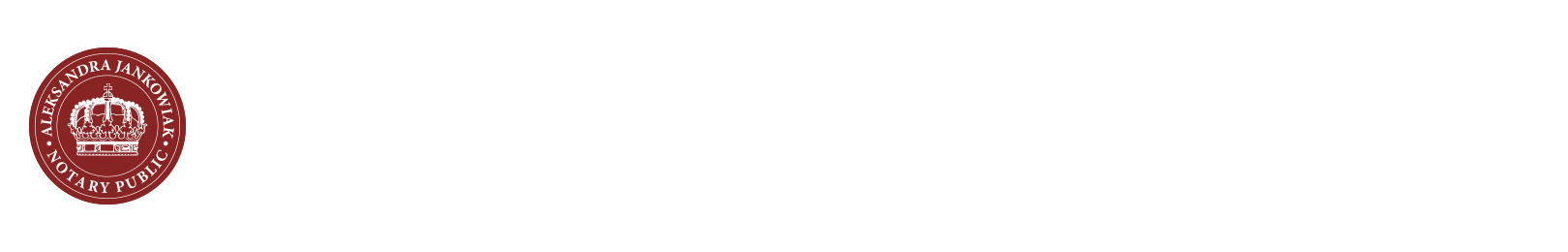 Aleksandra Jankowiak | Notary Of West London Ltd Logo