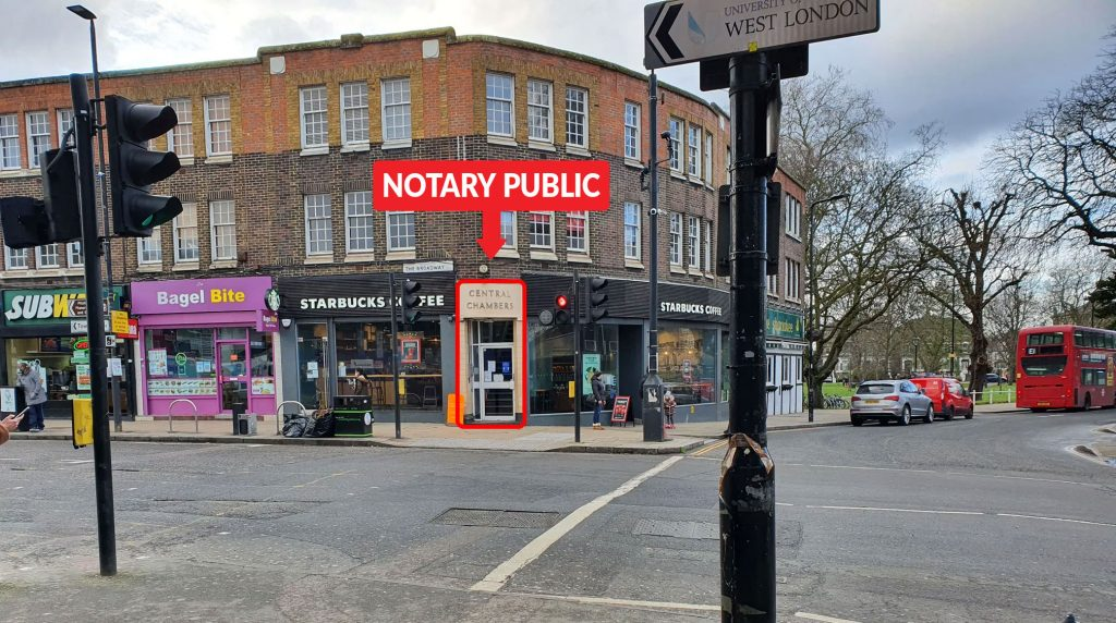 Notary of West London ltd - How to find us